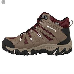 Merrell Mojave mid hiking boots, Boulder Red